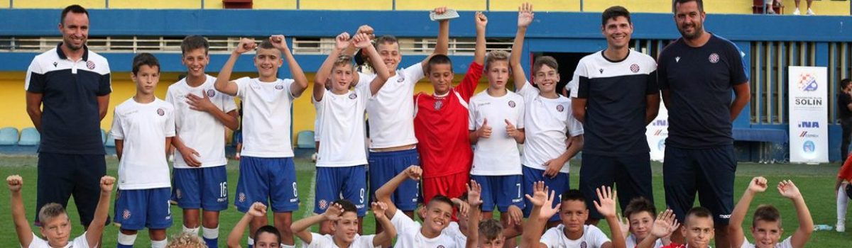 MEMORIJALNI TURNIR:  ODIGRAN 24. NOGOMETNI TURNIR DJEČAKA U-13 »TONČI BOBAN BEBI« SOLIN 2020. – Hajdukovci u finalu uvjerljivo bolji od Šibenika